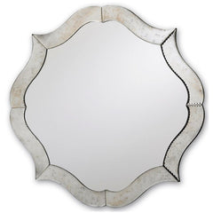 Currey and Company Monteleone Mirror-Life on Plum by Currey and Company