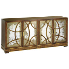 Currey and Company South Houston Credenza-Life on Plum by Currey and Company