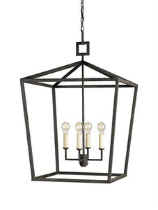 Currey and Company Denison Open Light Fixture - Life onPlum