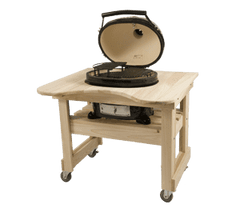 Primo Jr Ceramic Grill with Cypress Table - Life onPlum