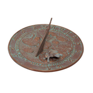 Whitehall Products Frog Sundial
