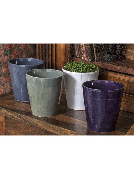 Campania International Boho Checkered Planter - Set of 8 - Life onPlum