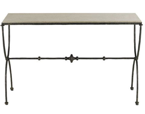 Currey and Company Agora Console Table
