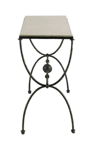 Currey and Company Agora Console Table-Life on Plum by Currey and Company