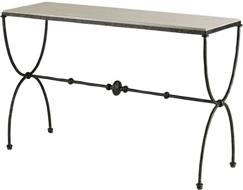 Image of Currey and Company Agora Console Table - Life onPlum - 1