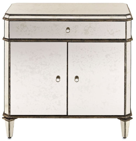Currey and Company Antiqued Mirror Sideboard