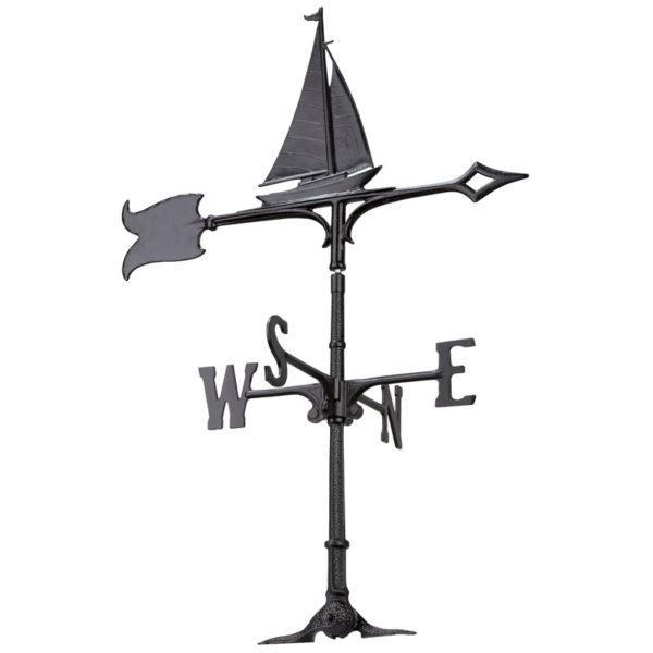 Whitehall Products 30-inch Sailboat Accent Weathervane