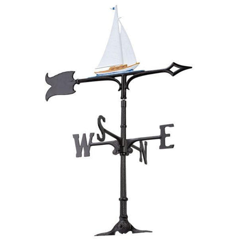Image of Whitehall Products 30-inch Sailboat Accent Weathervane