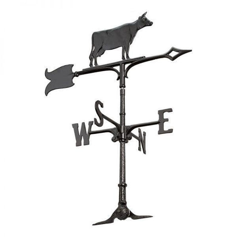 Image of Whitehall Products 30-inch Cow Garden Weathervane