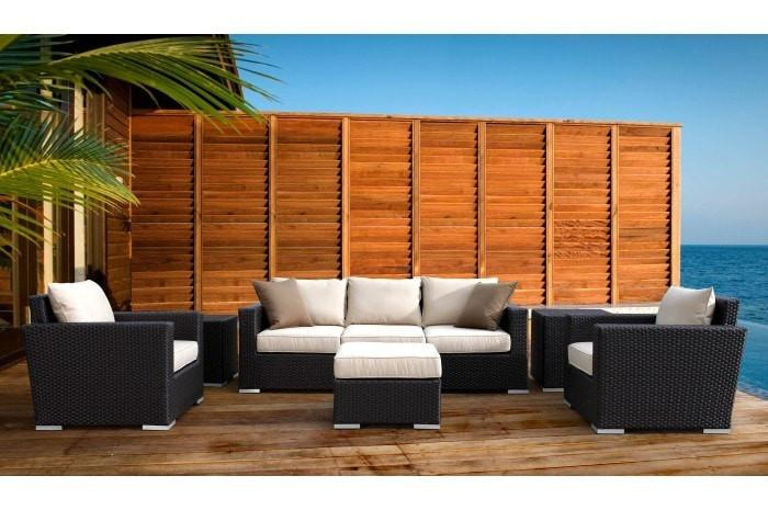 Sunset West Solana Outdoor Sofa with Cushions