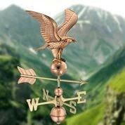 American Eagle Weathervane - Polished Copper by Good Directions Life on Plum