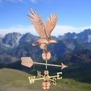 Freedom Eagle Weathervane - Polished Copper by Good Directions Life on Plum