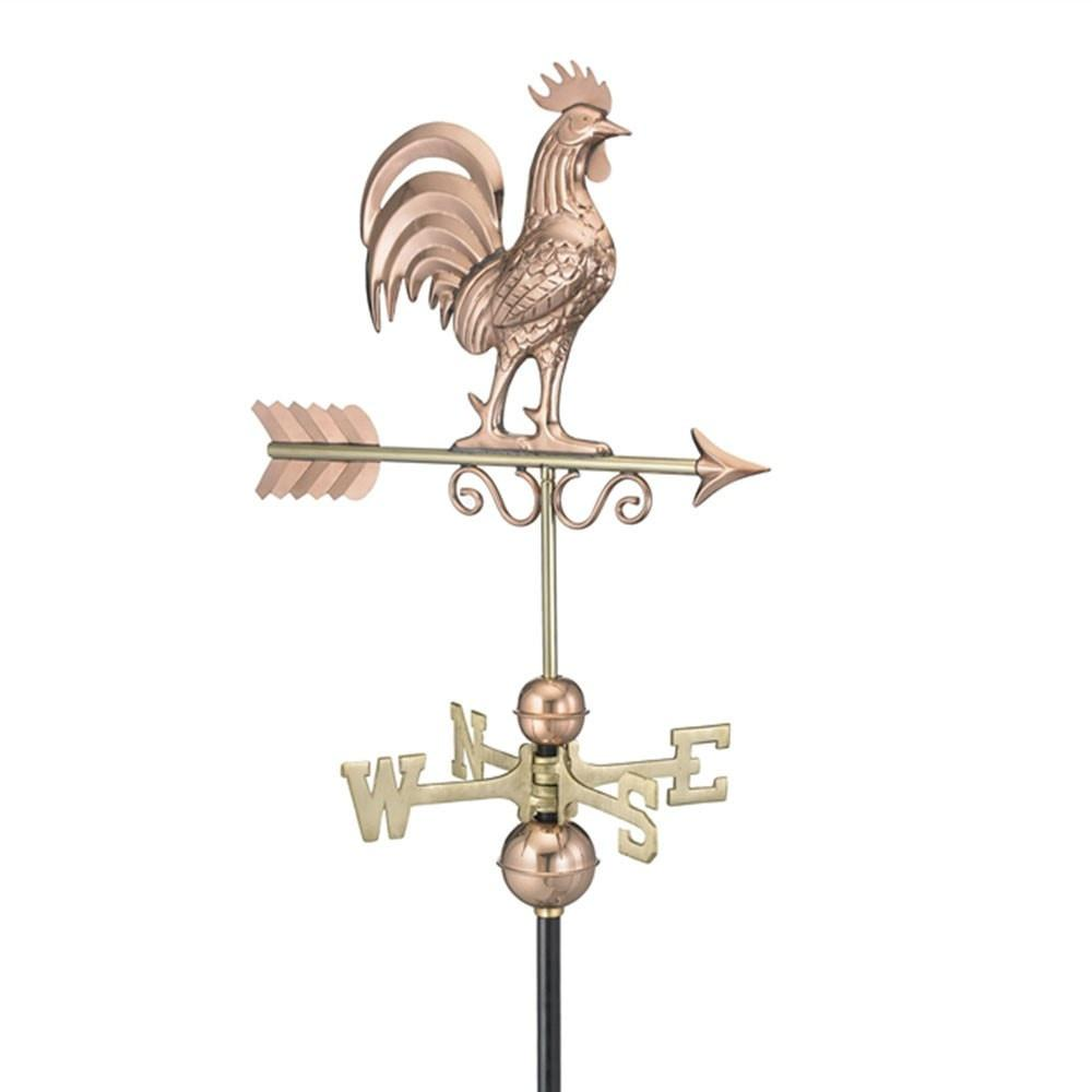 Bantam Rooster Weathervane - Polished Copper by Good Directions Life on Plum