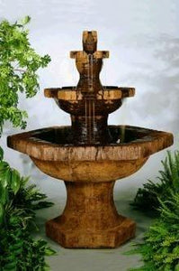 Henri Studio Grenoble Three-Tier Fountain Life on Plum