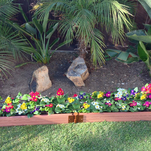 Image of Frame It All Backyard Border Straight 16ft x 1in Kit