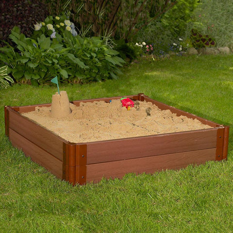 Image of Frame It All Sandbox Square 2in 4x4ft 2 Level Kit