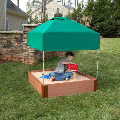 Frame It All Telescoping Square Sandbox Canopy/Cover
