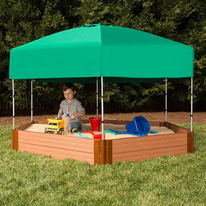 Frame It All Telescoping Hexagon Sandbox Canopy/Cover