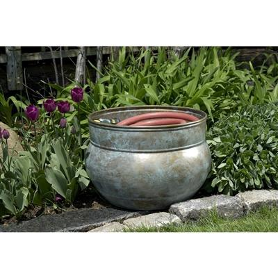 Image of Sonoma Hose Pot - Blue Verde Brass by Good Directions