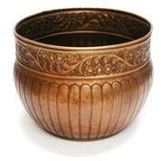 La Jolla Hose Pot - Copper Finish by Good Directions Life on Plum
