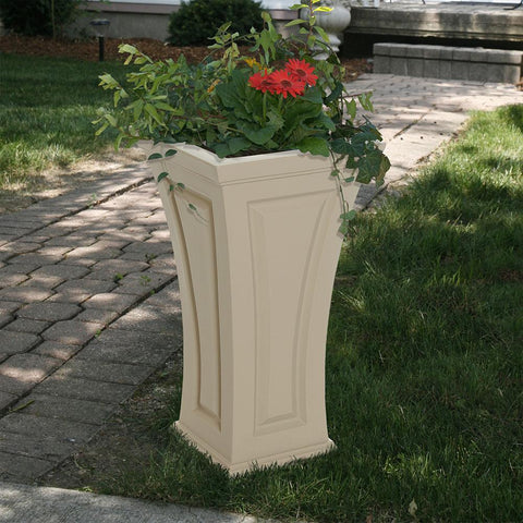 Image of Cambridge Tall Planter Clay By Mayne