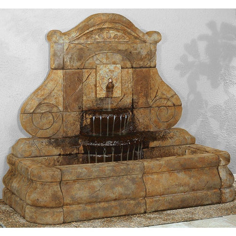 Image of Henri Studio Avignon Rosette Fountain Life on Plum