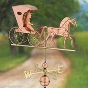 Country Doctor Weathervane - Polished Copper by Good Directions Life on Plum