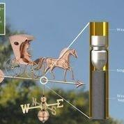 Country Doctor Weathervane with Arrow - Polished Copper by Good Directions