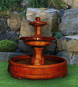 Henri Studio Barrington Fountain in Grando Pool Life on Plum