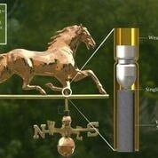 Horse Weathervane - Polished Copper by Good Directions Life on Plum