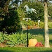 Horse Weathervane - Blue Verde Copper by Good Directions Life on Plum