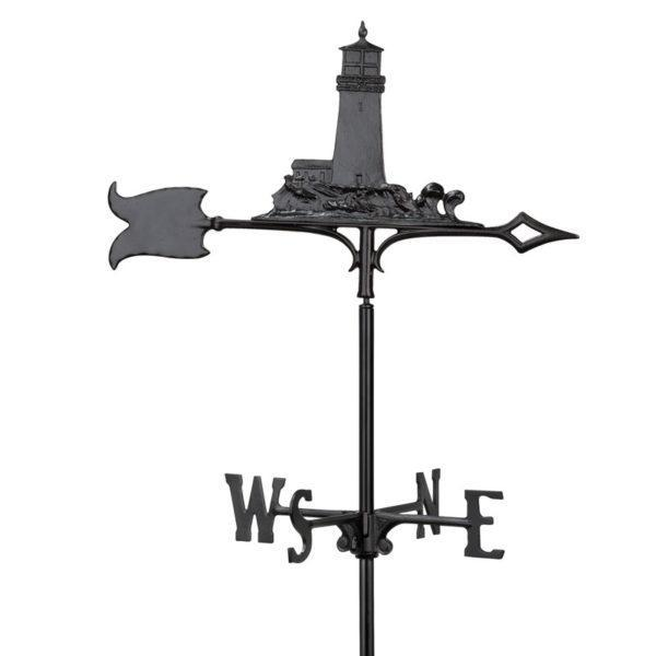 Whitehall Products 30-inch Lighthouse Garden Weathervane