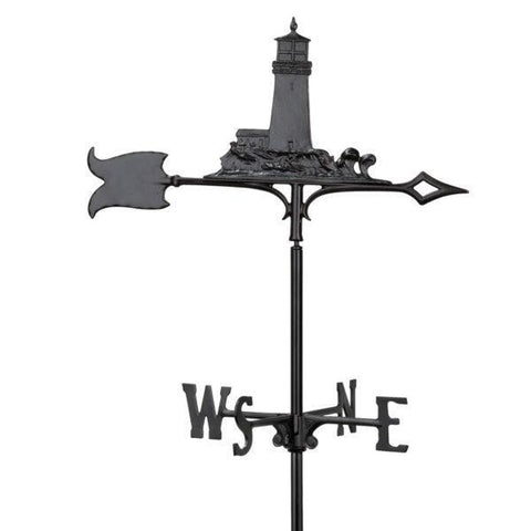 Image of Whitehall Products 30-inch Lighthouse Garden Weathervane
