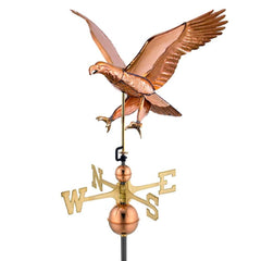 Attack Eagle -Weathervane - Polished Copper by Good Directions Life on Plum