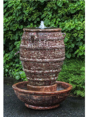 Campania International Corinth Fountain in Angkor Red - Life onPlum