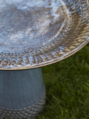 Campania International Tattersall Birdbath