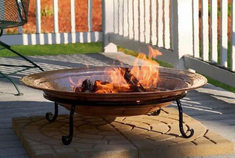 Good Directions Large Copper Fire Pit