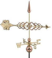 Smithsonian Arrow Weathervane - Polished Copper by Good Directions