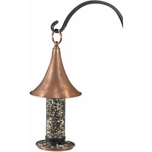 Castella Bird Feeder - Polished Copper by Good Directions