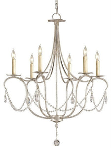 Crystal Lights Chandelier by Currey and Company - Life onPlum