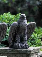 Campania International Eagle Looking Right Garden Statue The Garden Gates