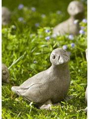 Campania International Bitsy Baby Goose Garden Statue The Garden Gates