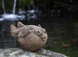 Campania International Bobby Blowfish Garden Statue The Garden Gates