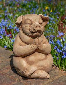 Campania International Zen Pig Statue