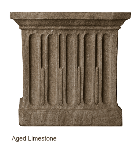 Image of Campania International Williamsburg Low Fretwork Urn with Pedestal - Life onPlum - 2