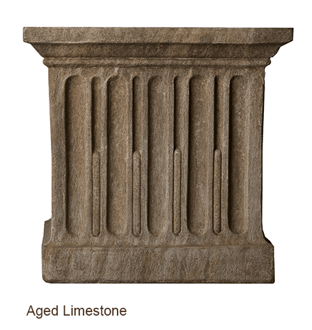 Image of Campania International Smithsonian Foliated Scroll Urn