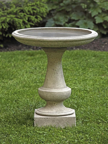 Image of Campania International Chatham Birdbath Life on Plum