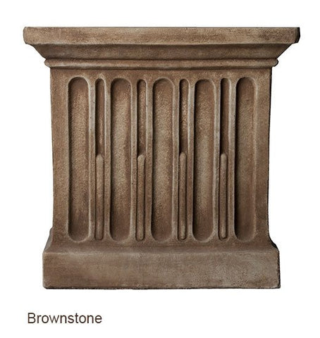 Image of Campania International Williamsburg Low Fretwork Urn with Pedestal - Life onPlum - 4
