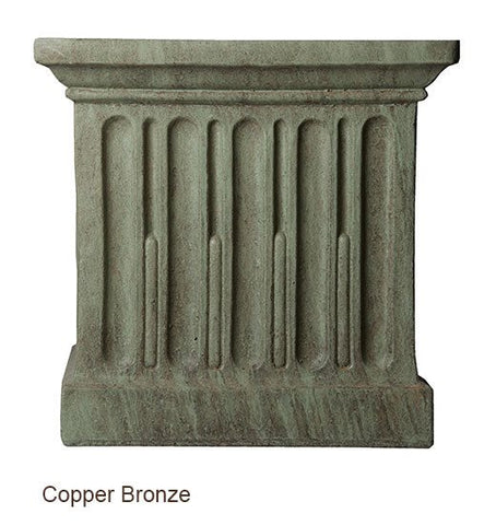 Image of Campania International Williamsburg Low Fretwork Urn with Pedestal - Life onPlum - 5