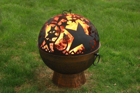 Good Directions Oversized Fire Bowl with Orion FireDome